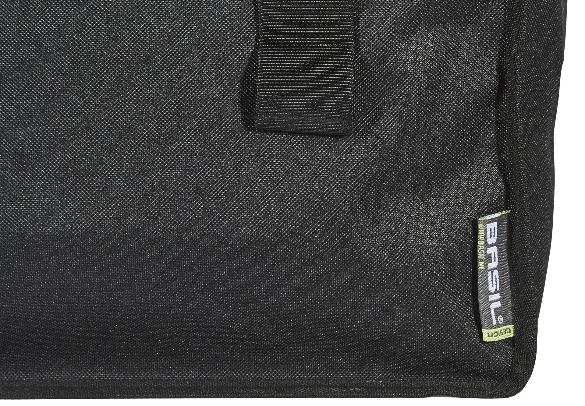 Basil Mara Tupla tavaratelinelaukku 3XL, 52l, black